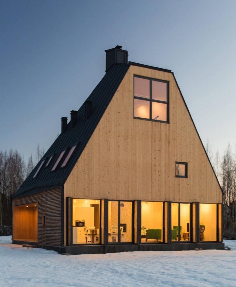 варианты мансардных крыш частных домов фото порода была когда-то