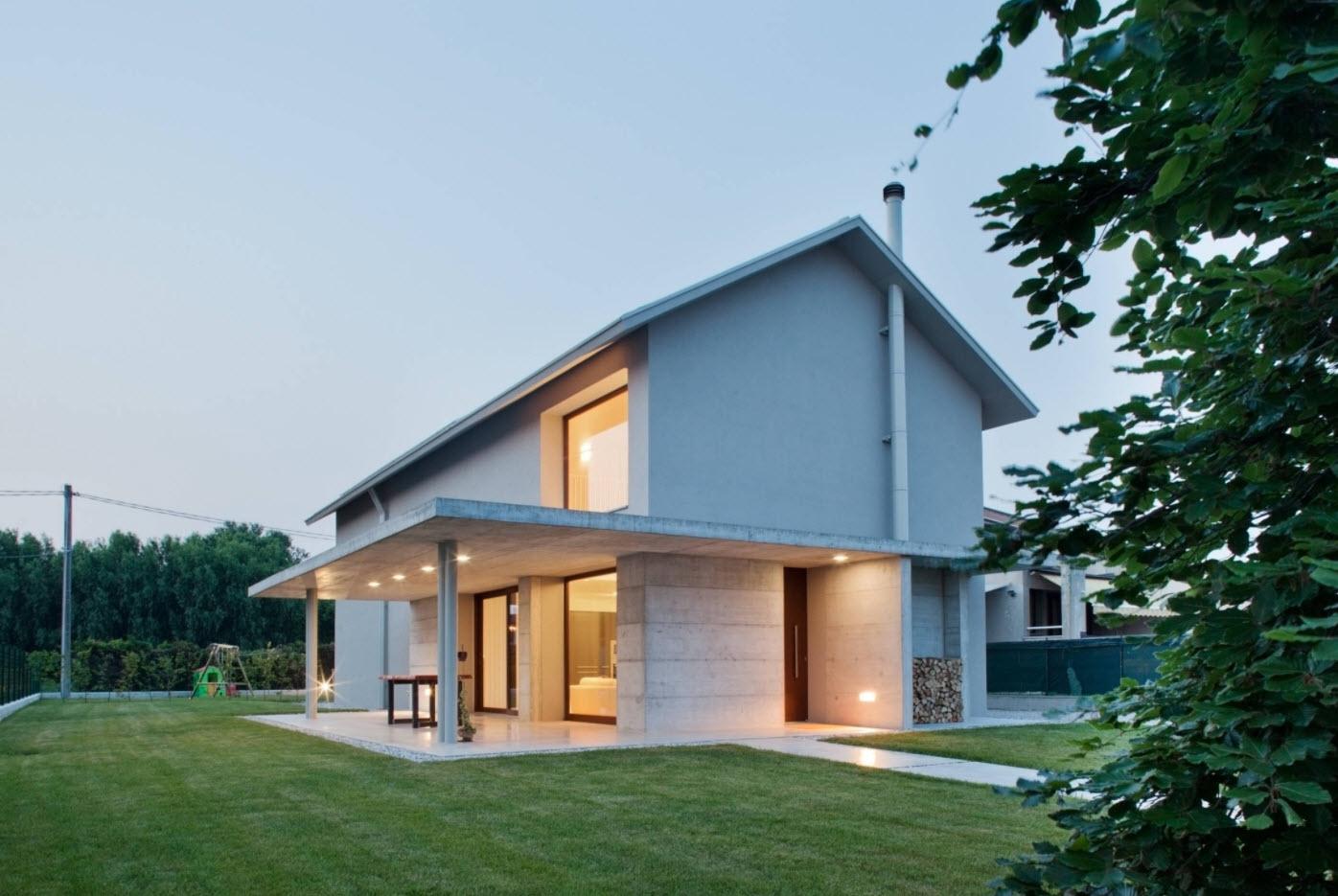 жизнь двухэтажные дома с низкой крышей фото можно