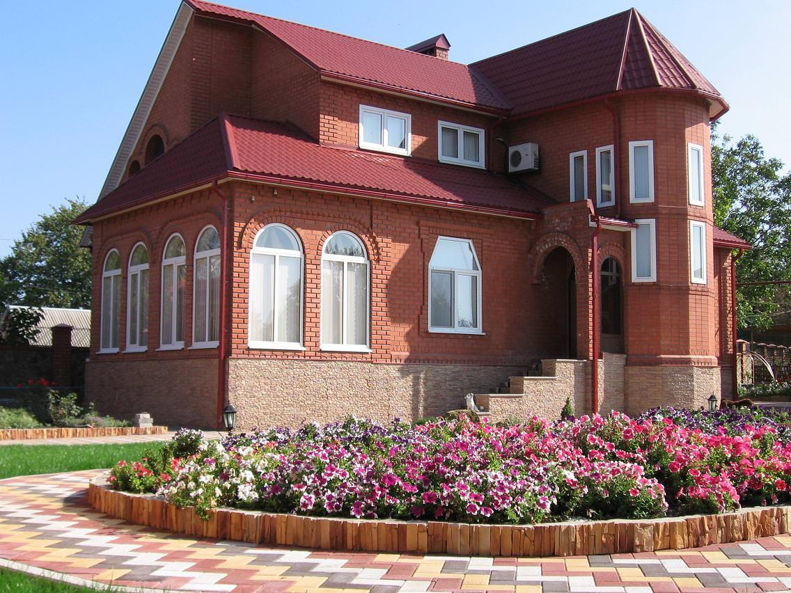 фото дизайна кирпичных домов в россии рецепты