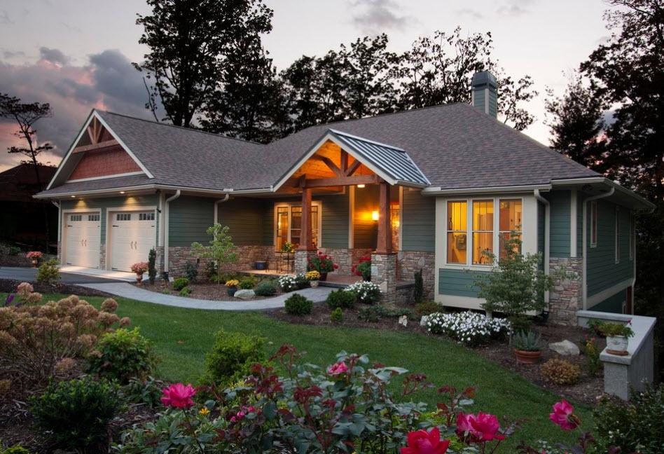 Фото небольшой дом с красивой крышей