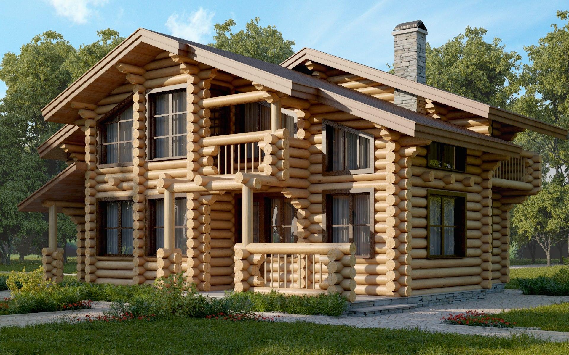 Проекты деревянных домов с картинками