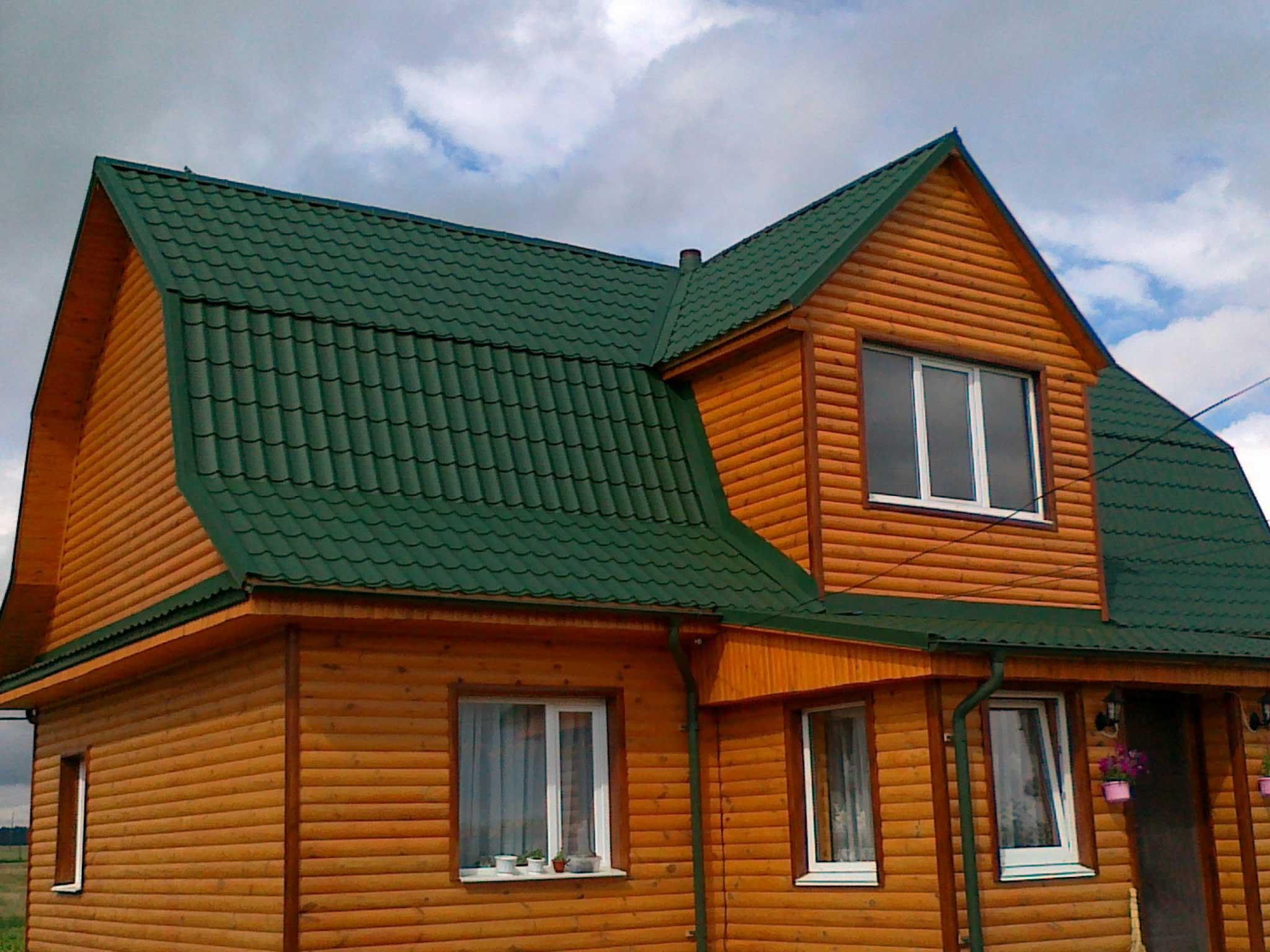 еще металлочерепица зеленый мох фото домов цены штык-ножей