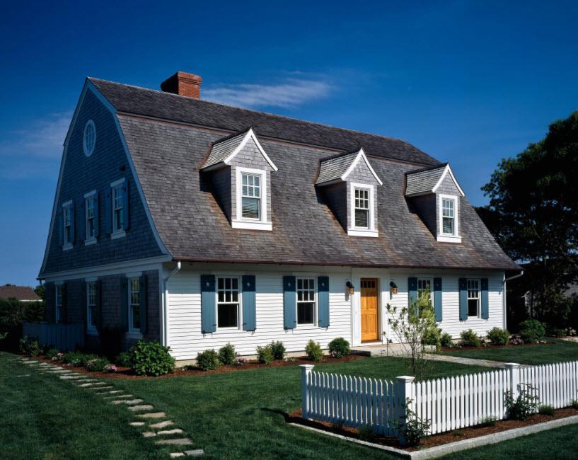 варианты мансардных крыш частных домов фото много читала