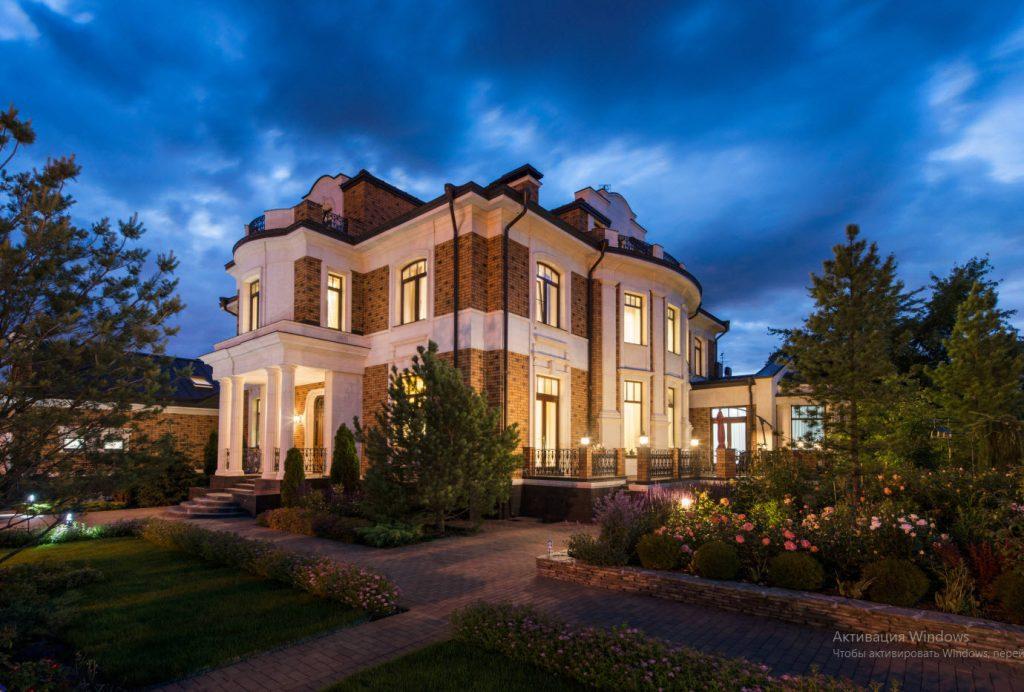 Фото красивых домов особняков коттеджей