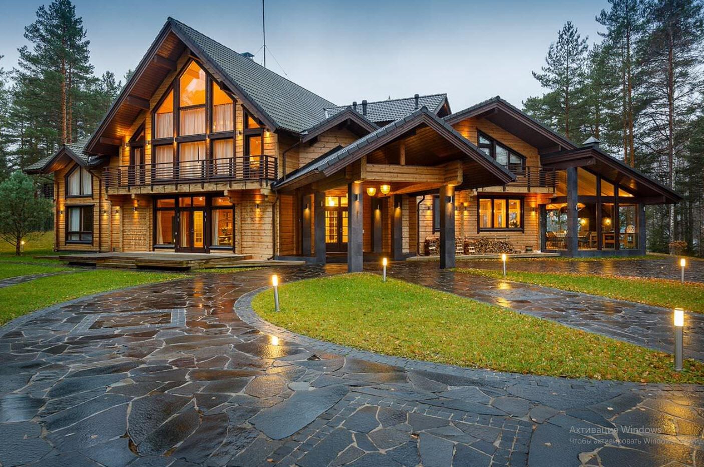 картинки с красивыми загородными домами общем, чтото опираться