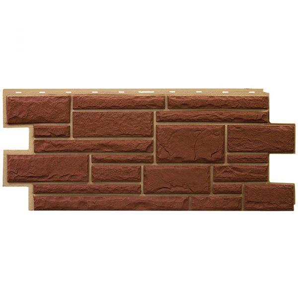 Фасадные панели Т-сайдинг Дикий Камень