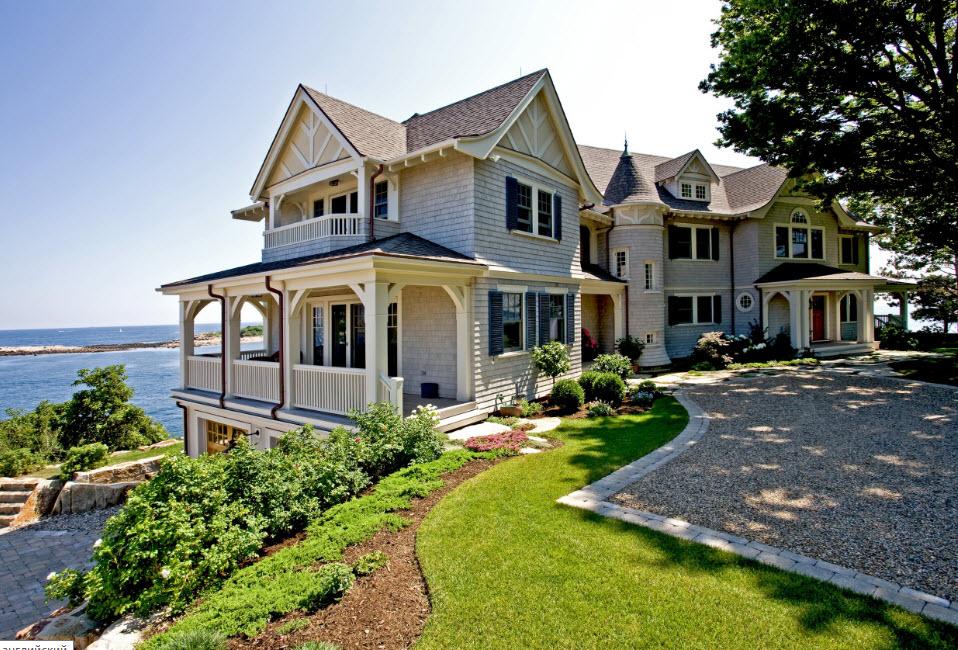 Поздравляем, картинки красивый дом у моря