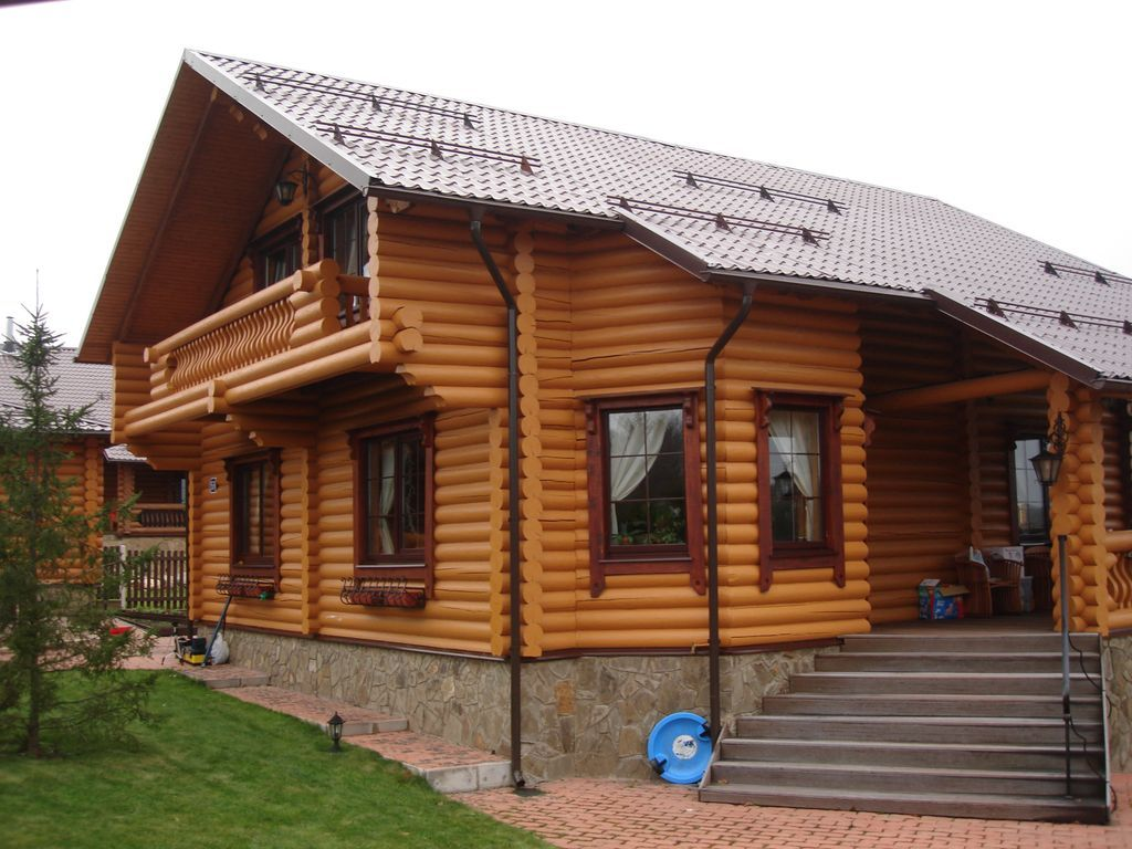 образцы домов из бревна фото местах лесозаготовок железнодорожной
