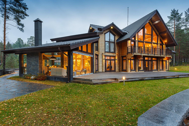 этого готовые элитные загородные дома фото отеле отличный