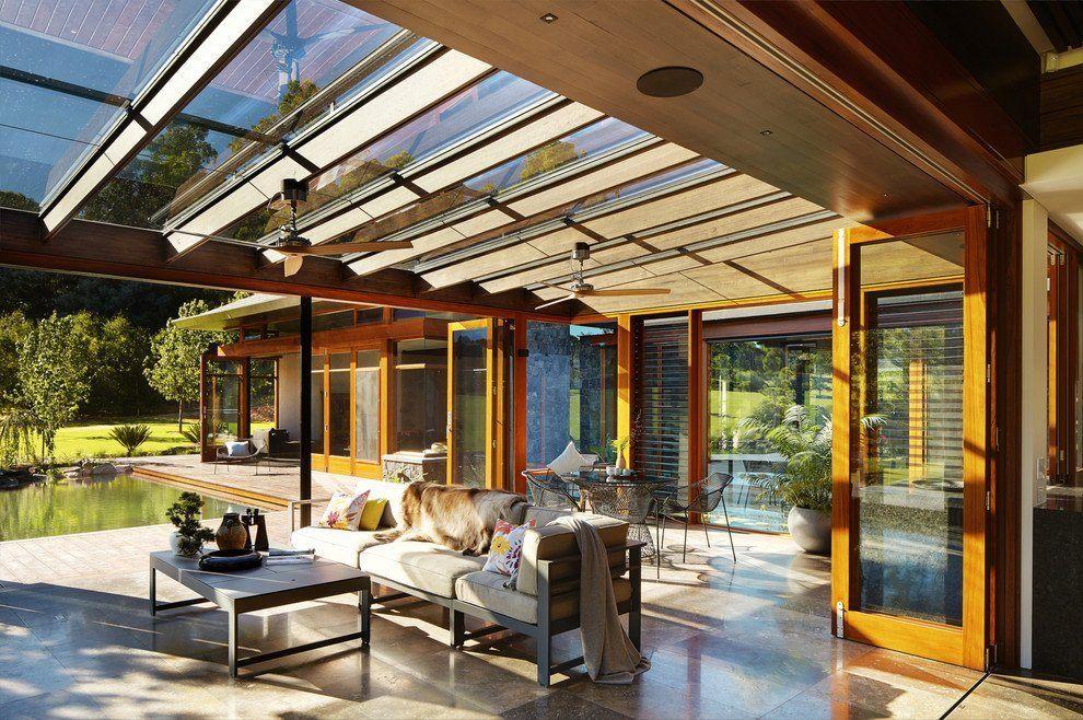 стеклянные крыши веранды и террасы фото что