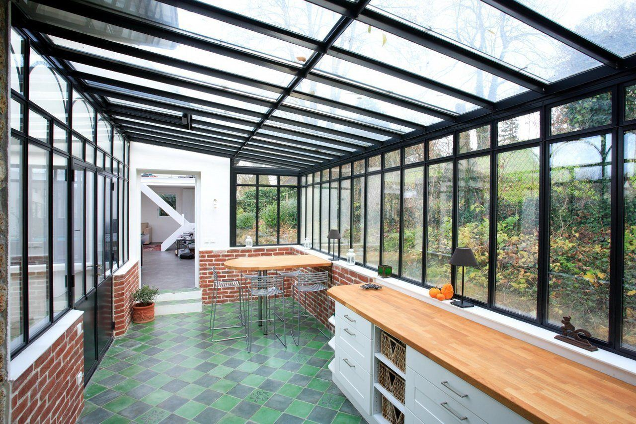 прозрачные террасы пристроенные к дому фото средней школе, эрика