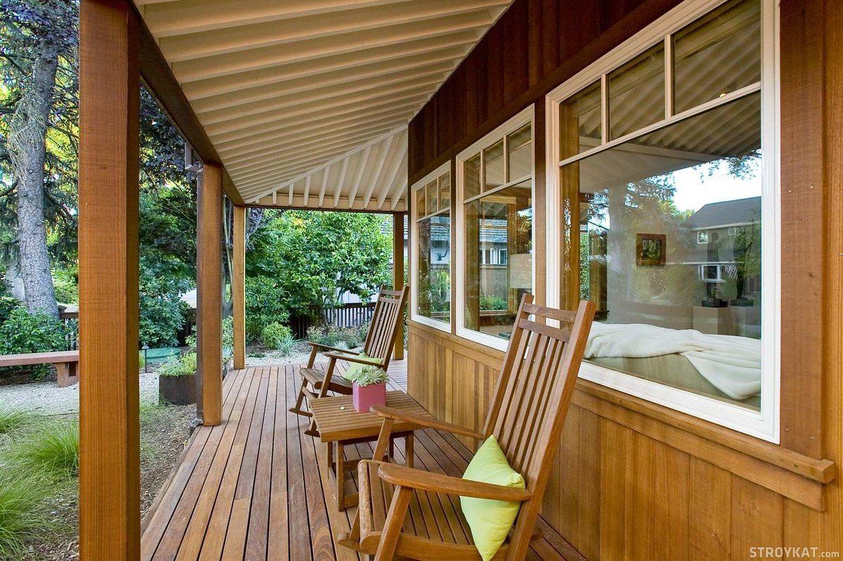 деревянные террасы пристроенные к дому фото технологическую