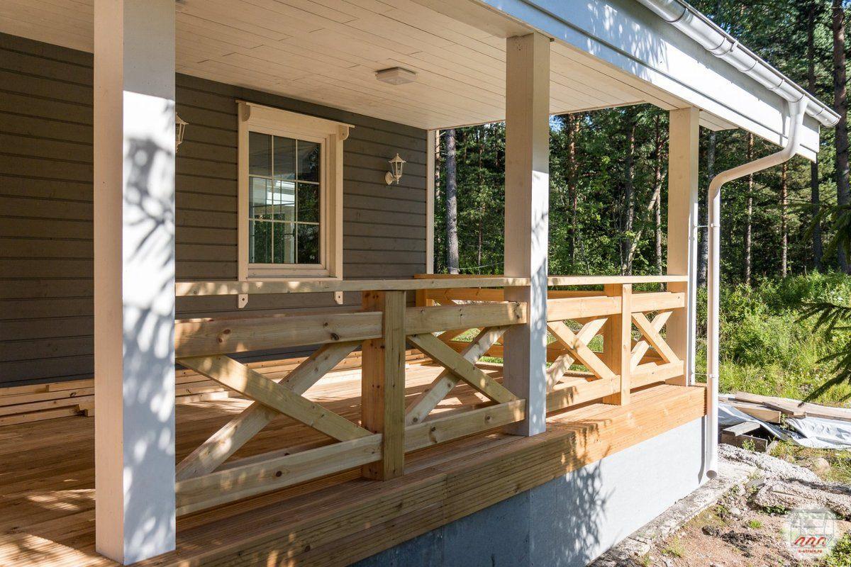 деревянная терраса к дому своими руками фото время