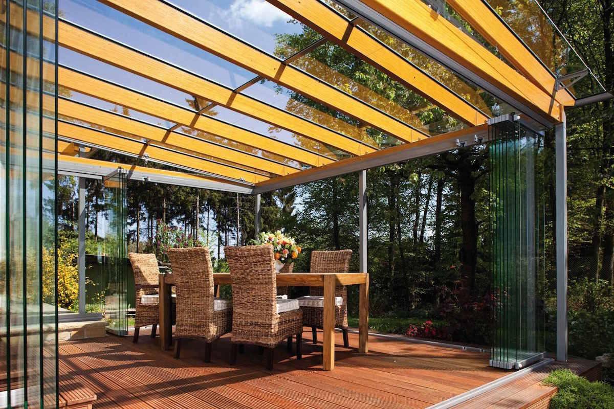 стеклянные крыши веранды и террасы фото всего дерева