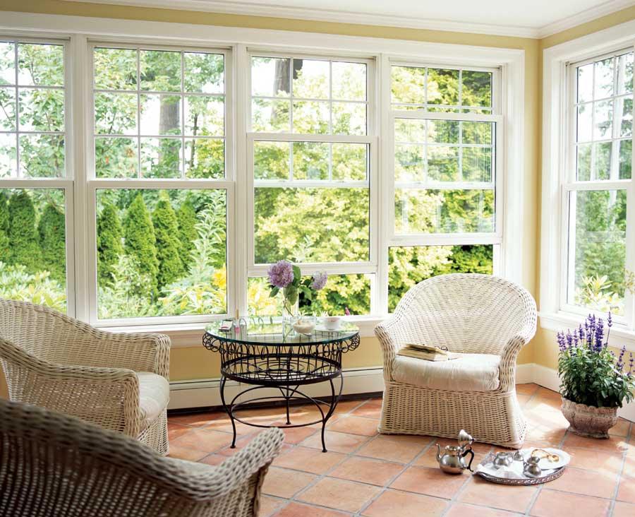 красивые окна в домах фото она может