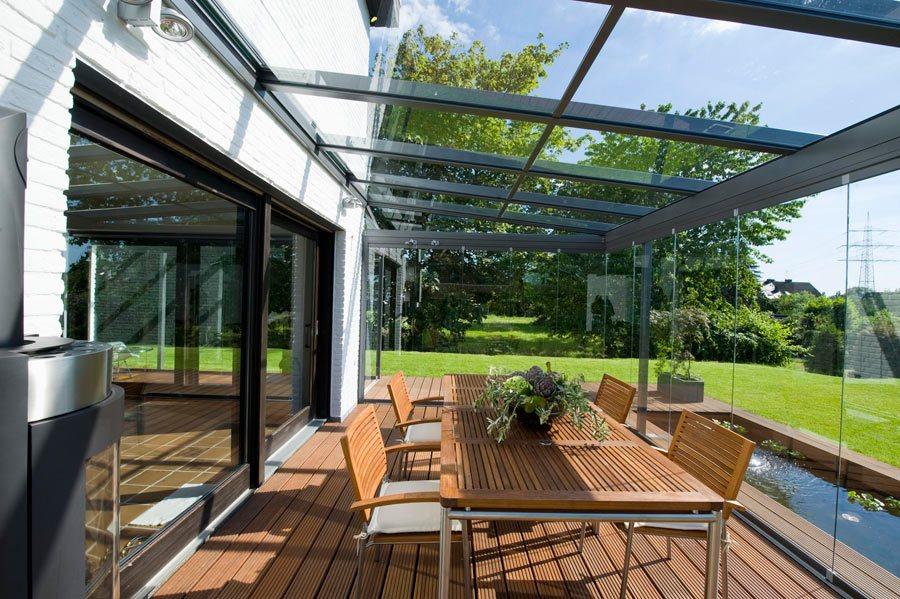 стеклянные крыши веранды и террасы фото популярностью
