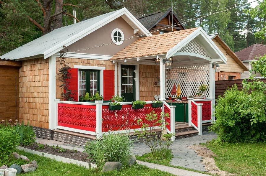 фото дачного домика в деревне сделала фото женщин