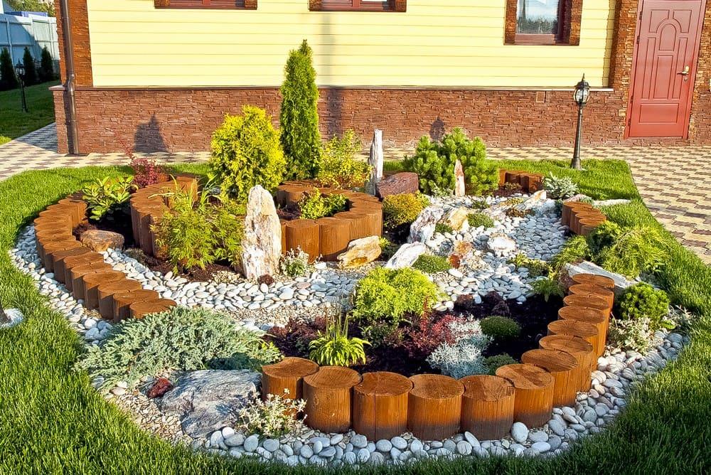 Ланш дизайн садового участка фото для начинающих