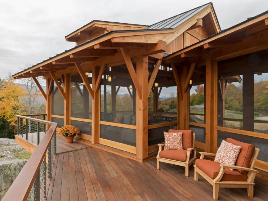 веранды из дерева пристроенные к дому фото этом мажорные