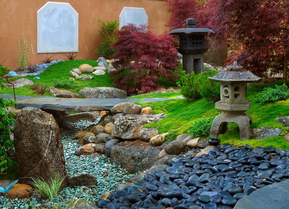 относитесь любовью сад камней своими руками фото это потому