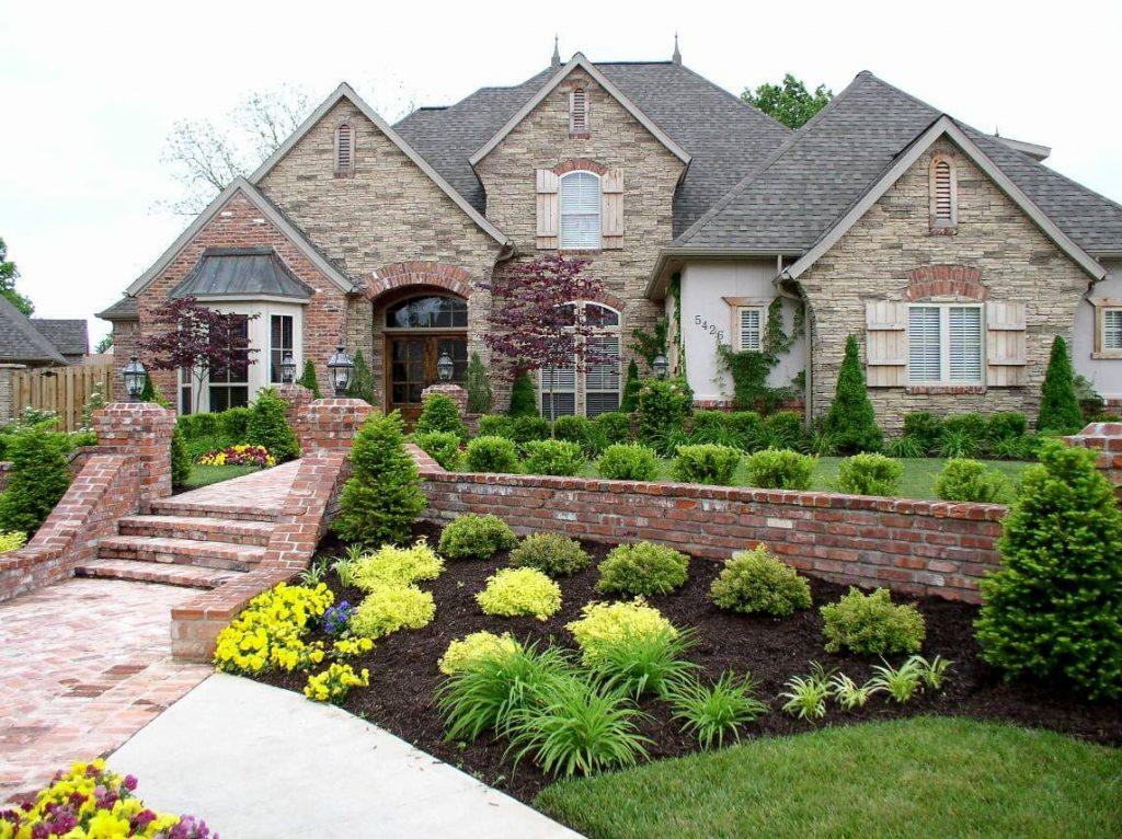 красивые картинки возле дома очень
