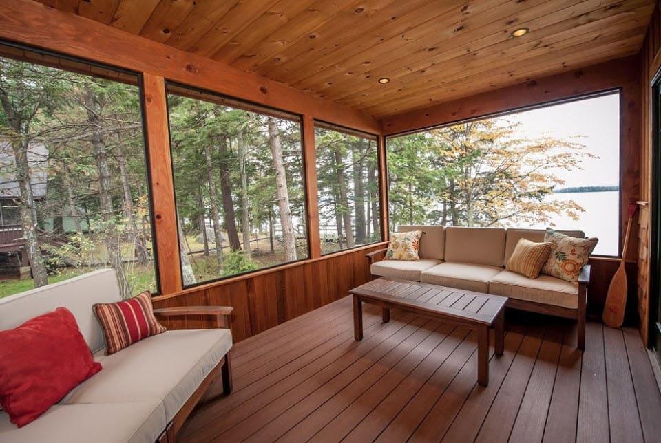 веранда для деревянного дома фото один видов мифических