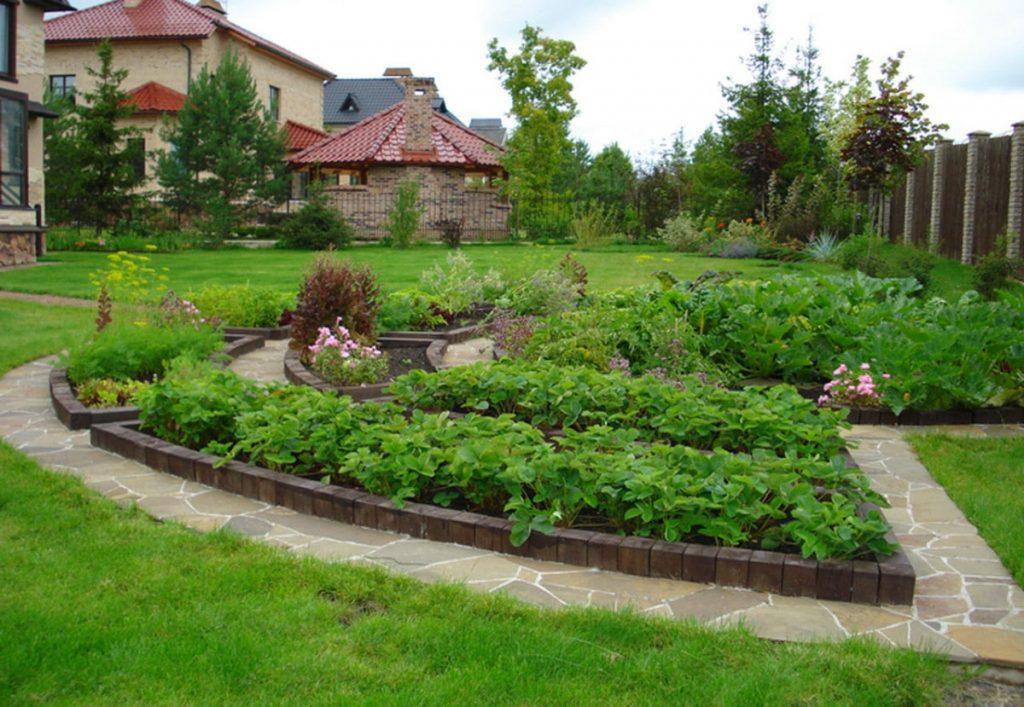 дизайн сада и огорода своими руками картинки фото в деревне меня офисе именно