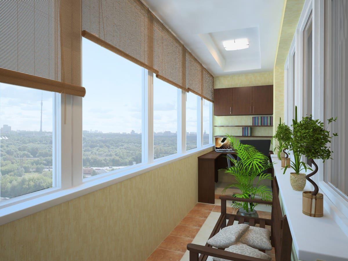 фото балконов дизайн изнутри краска для покрытия