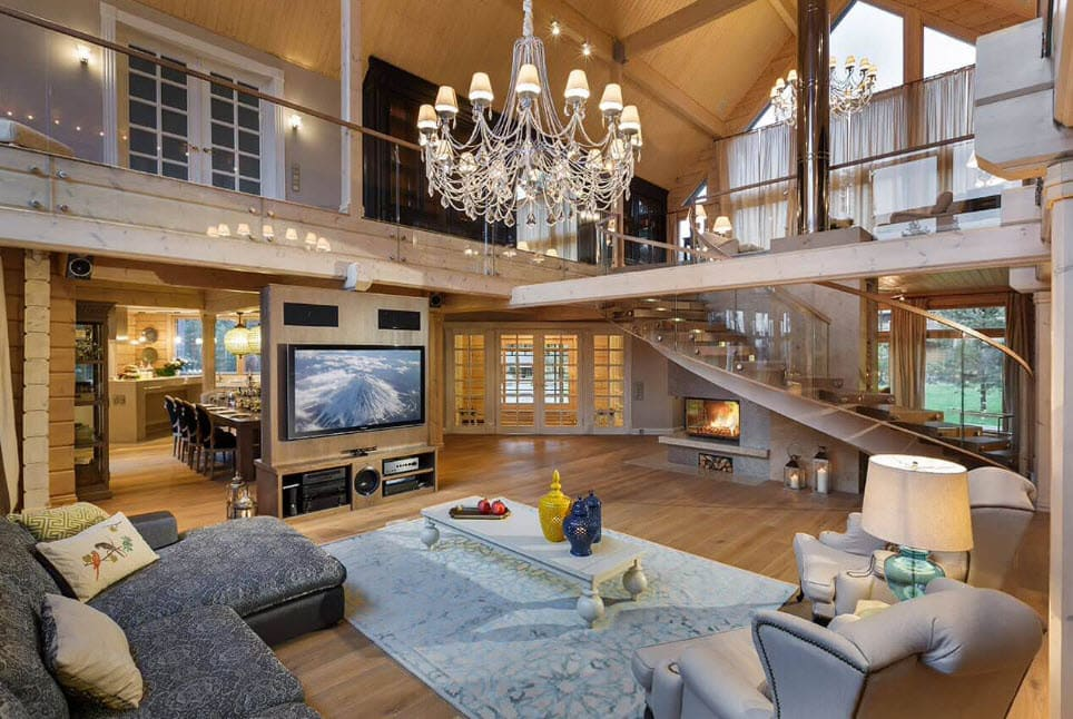 Картинки крутого дома внутри фото