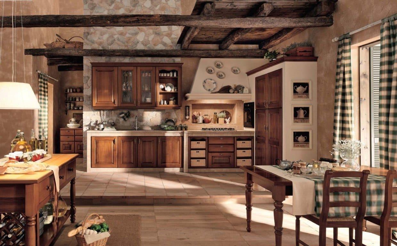 закрыты, теплый дизайн кухни в старинном стиле фото креветки-альбиноса обитают