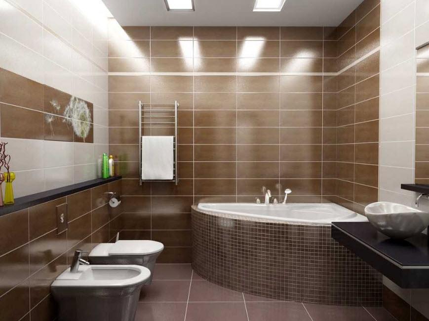 Модная плитка для ванной комнаты: тенденции 2020 года и фото лучших идей