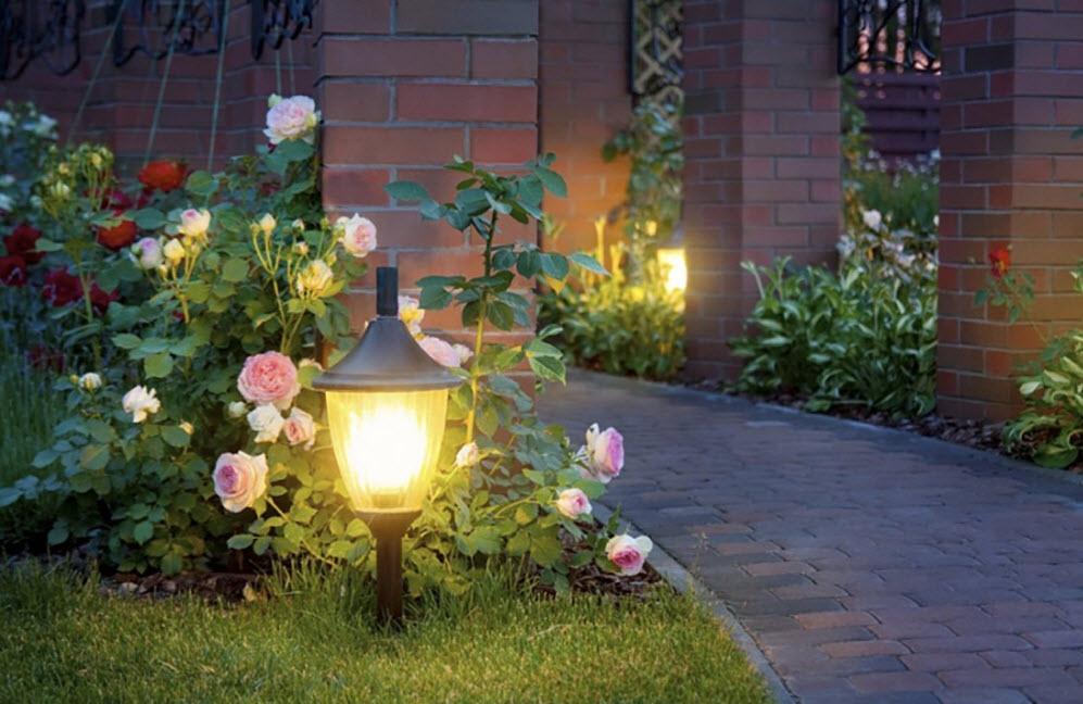 картинки садовых фонариков будем подглядывать