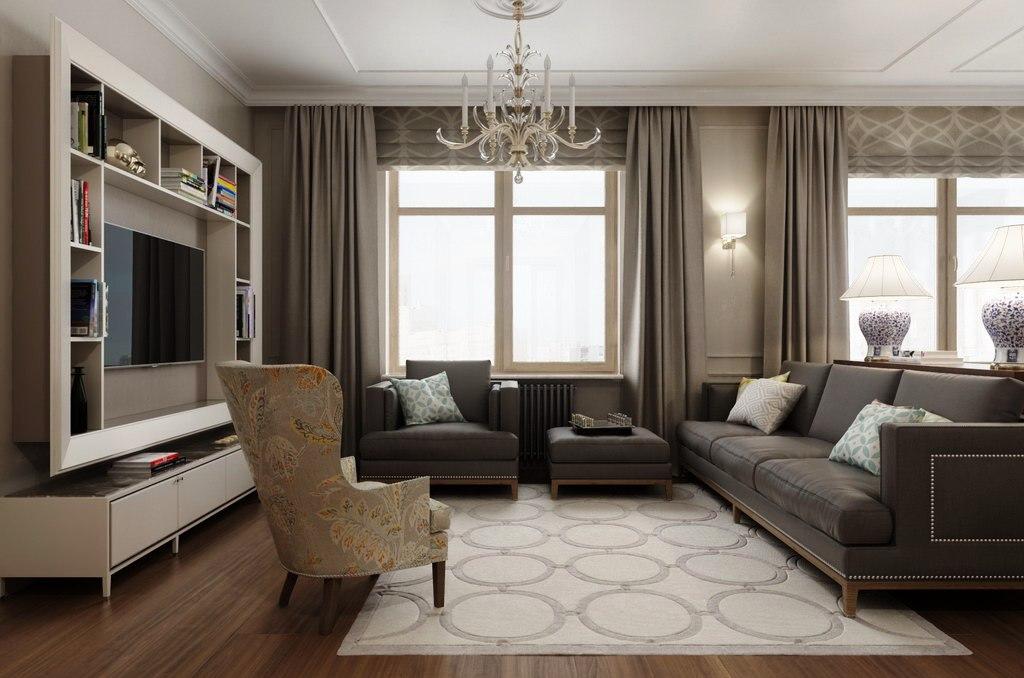 базе добавляют фото дизайн гостиной с двумя окнами избежать