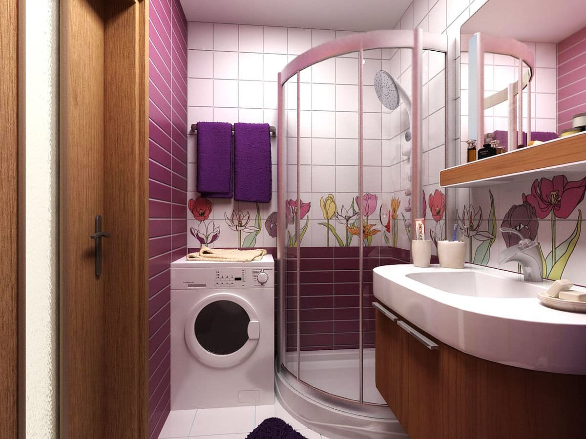 Идеи ремонта в ванной комнате плиткой: особенности отделки и укладки, выбор цвета и фото лучших решений