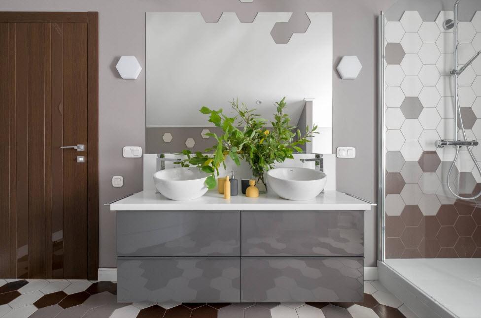 Душевая из плитки в квартире: особенности обустройства