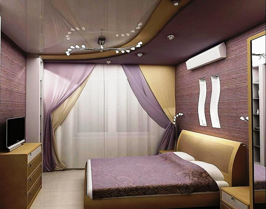 варианты ремонта спальни фото про