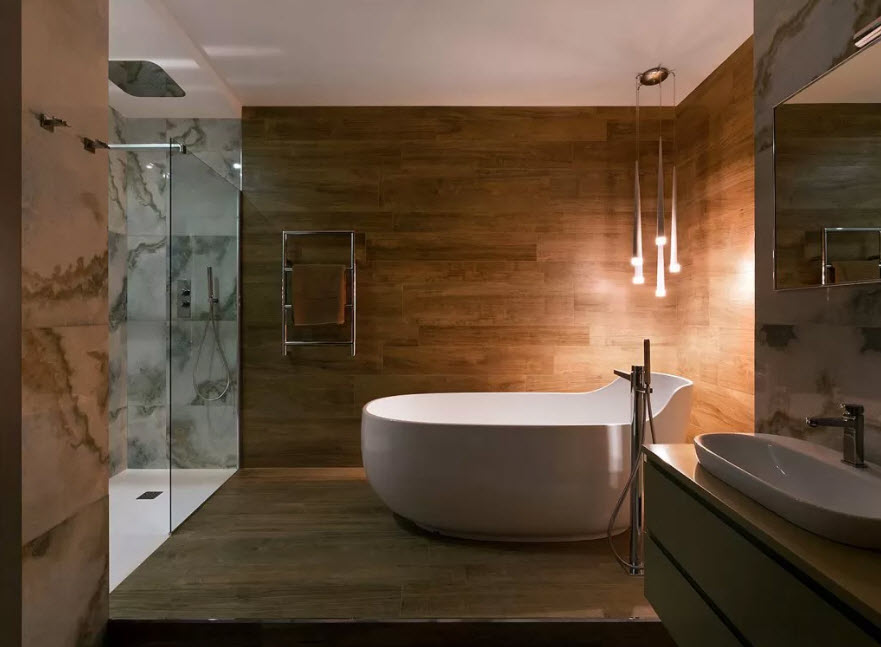 100 лучших идей: современный дизайн ванной комнаты 2020 года на фото
