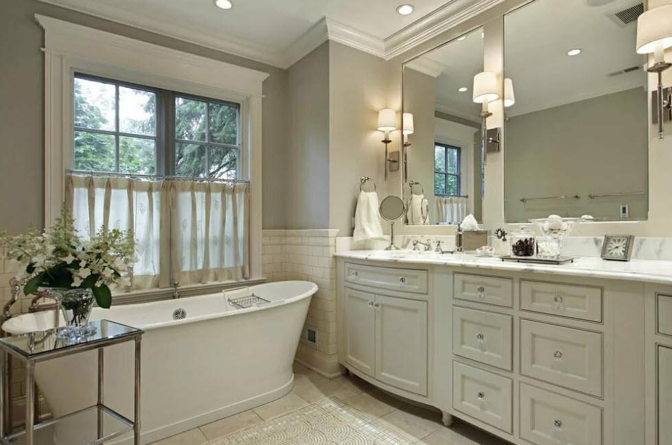 Дизайн ванной в частном доме: особенности оформления и 100 фото готовых решений