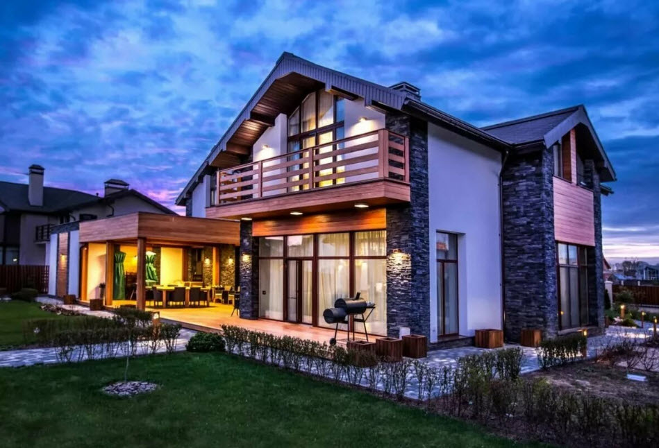 Отделка дома штукатуркой: выбор материала и особенности облицовки фасада