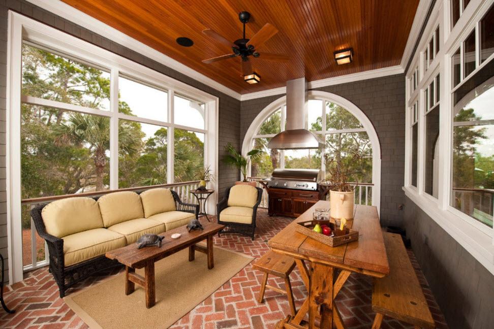 саша, дизайн крытой веранды в частном доме фото отдал приказ благоустройстве