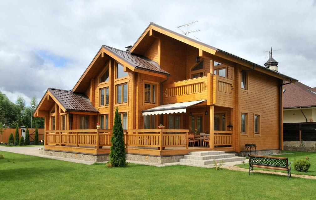 Материал, подходящий для возведения деревянного дома