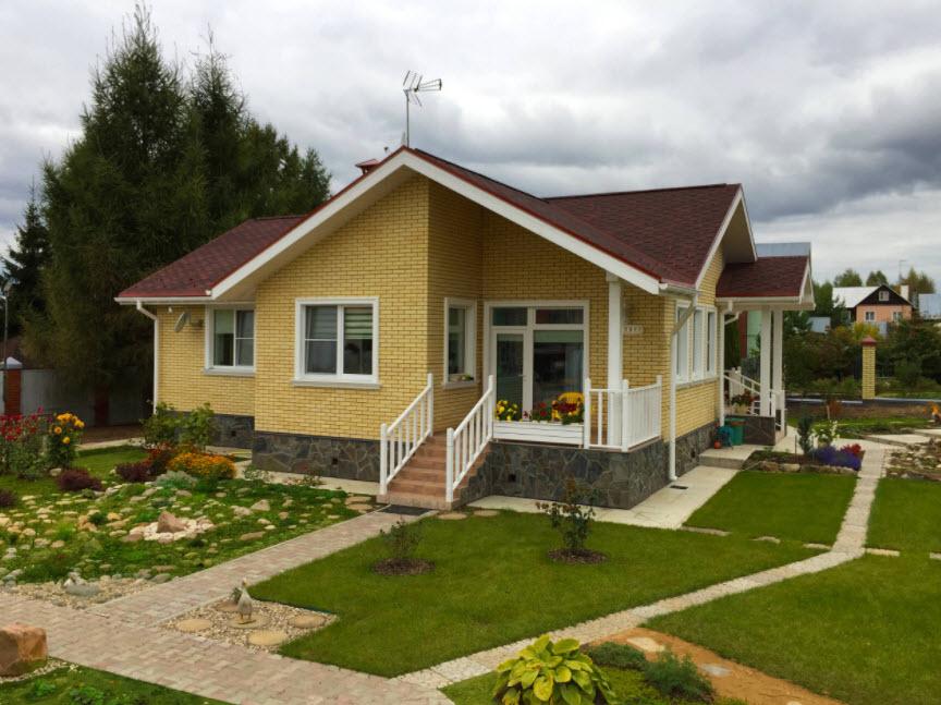 уютный одноэтажный дом
