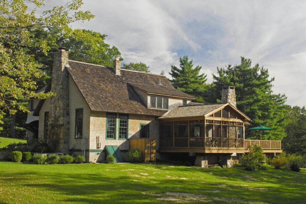 дом с комфортной террасой