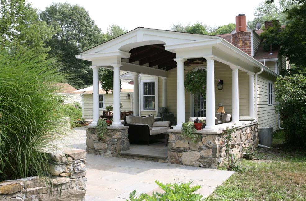 красивая терраса дома