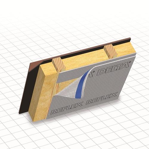 Delta Reflex / Reflex Plus пароизоляция с рефлексным слоем