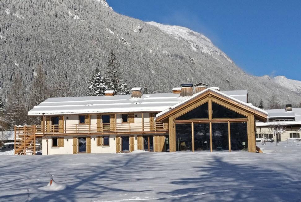 дом двухэтажный в горах