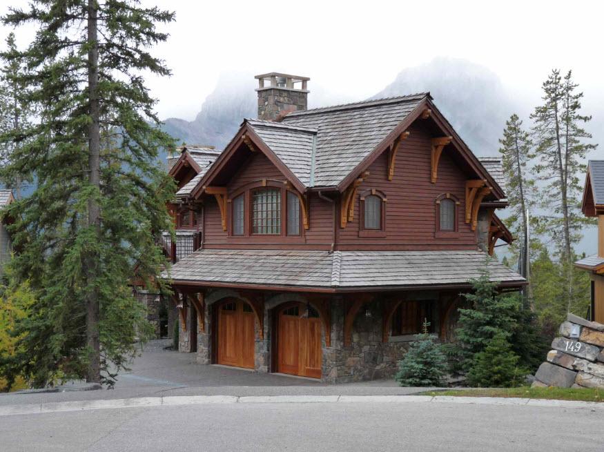 уютный домик в горах