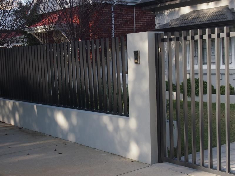 дачный забор из металла