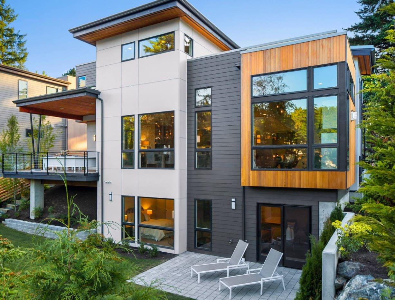Окна в пол в загородном доме: достоинства и недостатки, особенности и фото готовых решений