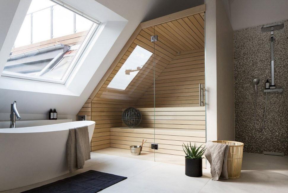 Дизайн второго этажа в частном доме